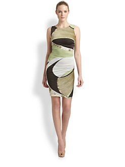 Emilio Pucci - Ruched Silk Dress