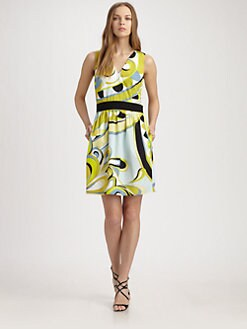 Emilio Pucci - Cotton Rio Print Dress