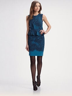 Emilio Pucci - Lace Print Dress