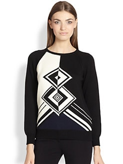 Emilio Pucci - Graphic Knit Sweater