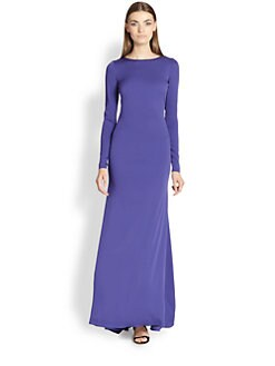 Emilio Pucci - Silk Open-Back Gown