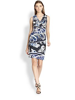 Emilio Pucci - Faux-Wrap Jersey Dress