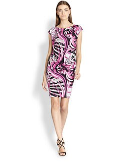 Emilio Pucci - Draped Jersey Dress