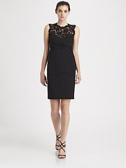 Emilio Pucci - Lace-Trimmed Dress