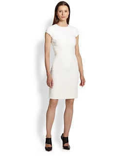 Emilio Pucci - Cap Sleeve Stretch Wool Sheath