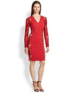 Emilio Pucci - Lace Punto Dress