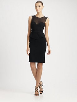 Emilio Pucci - Sweetheart Peplum-Waist Dress
