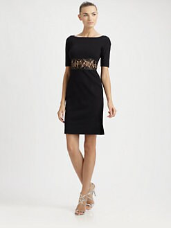Emilio Pucci - Lace-Waist Sheath Dress
