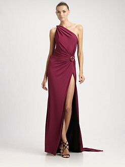 Emilio Pucci - One-Shoulder Gown