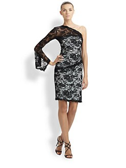 Emilio Pucci - Lace One-Shoulder Dress
