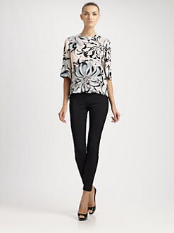 Emilio Pucci - Printed Silk Top