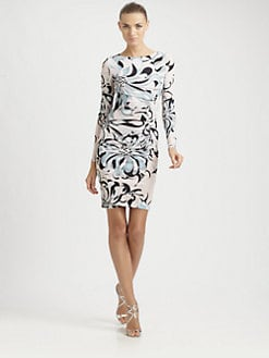 Emilio Pucci - Jersey Azalea-Print Dress