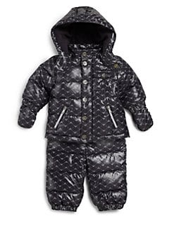 Armani Junior - Infant's Two-Piece Eagle Snow Suit