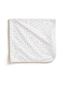 Kissy Kissy - Infant's Garden Roses Print Blanket