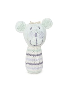 Finn & Emma - Milo The Bear Mini Rattle Buddy