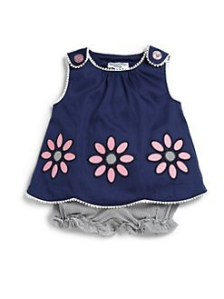 Hartstrings - Infant's Two-Piece Floral Swing Top & Bloomers Set