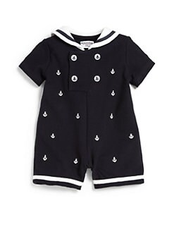 Hartstrings - Infant's Sailboat Romper