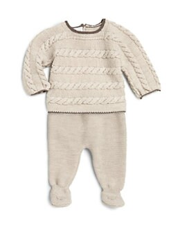 Paz Rodriguez - Infant's Two-Piece Wool Sweater & Leggings Set