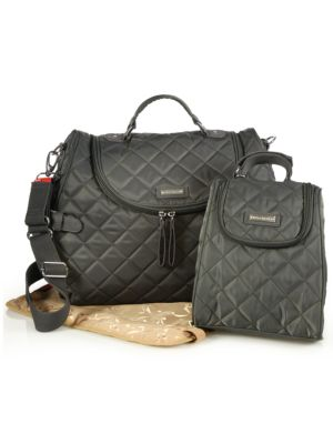 Poppy Three-Piece Convertible Backpack Diaper Bag