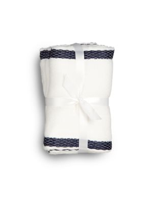 Infant's Two-Piece Burp Cloth Set