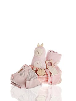 Oliver & Adelaide - Infant's Eight-Piece Perfect Baby Girl Gift Set