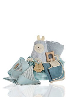 Oliver & Adelaide - Infant's Eight-Piece Perfect Baby Boy Gift Set
