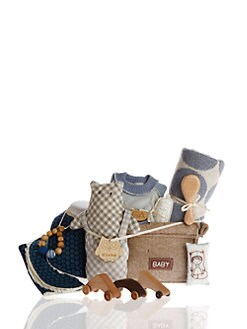 Oliver & Adelaide - Infant Boy's 11-Piece Ultimate Baby Shower Gift Set