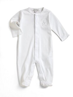 Kissy Kissy - Infant's Pima Cotton Bear Footie
