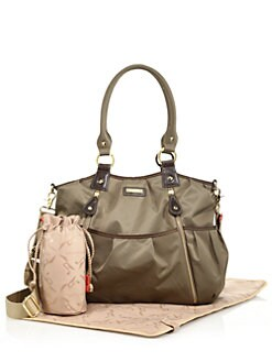 Olivia Diaper Bag Moss Product Image