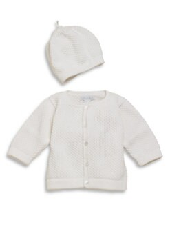 Kissy Kissy - Infant's Cardigan & Hat Set
