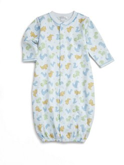 Kissy Kissy - Infant's Dino Pals Convertible Gown