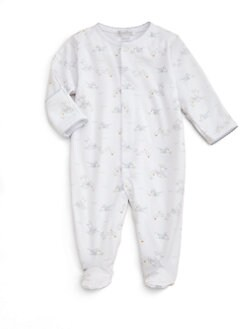 Kissy Kissy - Infant's Bunny and Duckie Print Footie/Blue