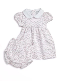 Kissy Kissy - Infant's Heart Dress & Bloomers Set
