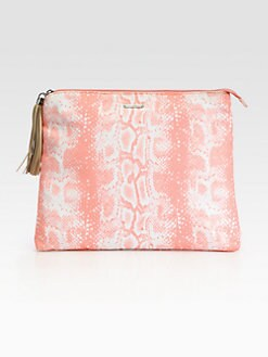 Rebecca Minkoff - Luca Python Print Baby Pouch