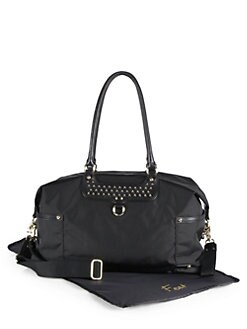 Rebecca Minkoff - Kendra Baby Bag/Black-Silver