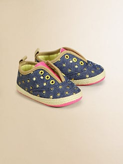 Juicy Couture - Infant's Slip-On Espadrille Flats