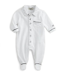 Armani Junior - Infant's Logo Footie