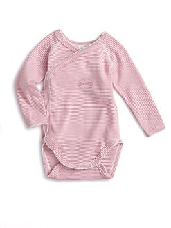 Petit Bateau - Infant's Striped Bodysuit
