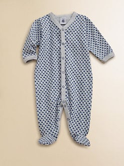 Petit Bateau - Infant's Sailboat Footie