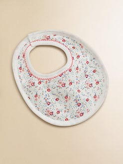 Petit Bateau - Infant's Floral Bib