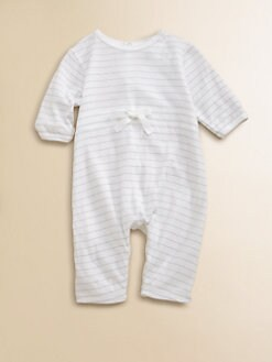 Petit Bateau - Infant's Striped Shortall