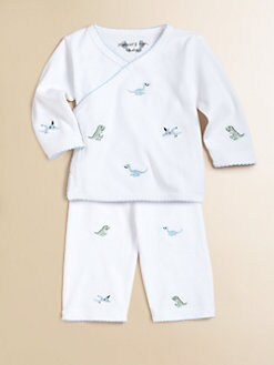 Margery Ellen - Infant's Wrap Top & Pant Set