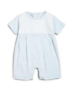 Kissy Kissy - Infant's Pleated Playsuit