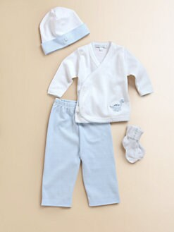 Royal Baby - Layette's Embroidered 4-Piece Set