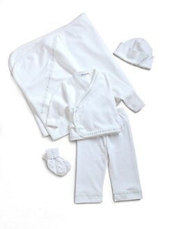 Royal Baby - Layette's Cotton Four-Piece Set
