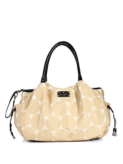 Kate Spade New York Stevie Baby Bag   Cream
