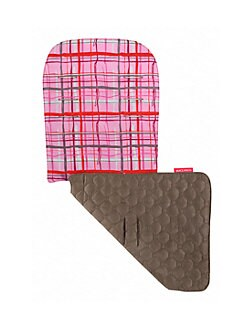 Maclaren - Reversible Seat Liner/Pink Tartan