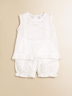 Kissy Kissy - Infant's Two-Piece Sunsuit Set