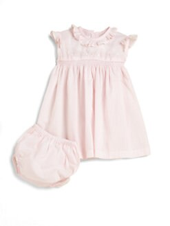 Kissy Kissy - Infant's Ruffled Dress & Bloomers Set