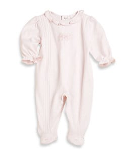 Kissy Kissy - Infant's Embroidered Footie